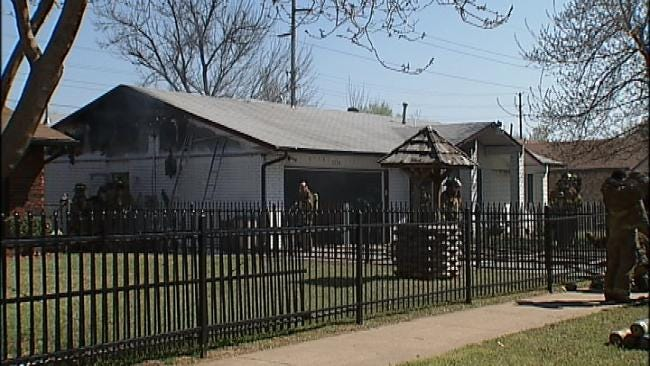 Neighbor Alerts Firefighters To Blaze At Tulsa Home