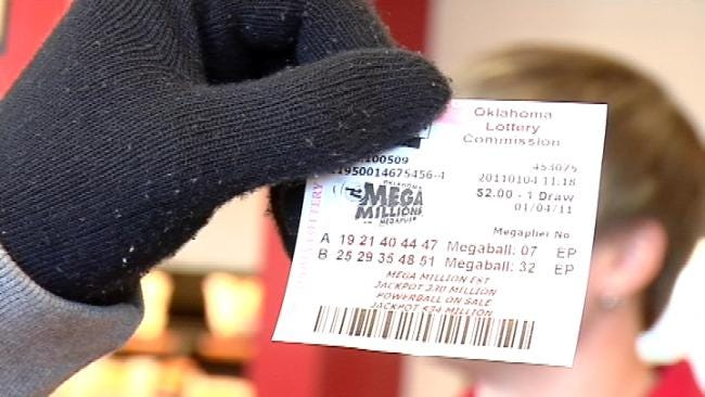 Oklahomans Hope To Cash In On Friday's Mega Millions Drawing