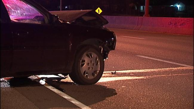 Swerving To Miss Pothole Leads To Crash In Tulsa