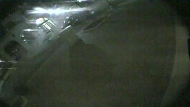 Surveillance Video Shows Driver Crashing Into Tulsa's Bartlett Square Fountain