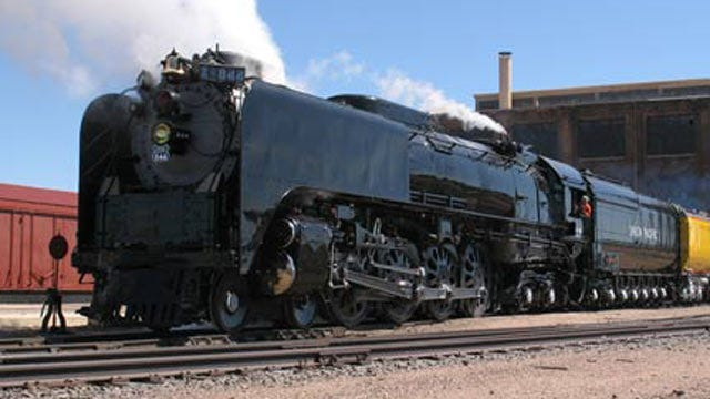 Union Pacific Steam Engine To Stop In Coffeyville, Kansas This Spring