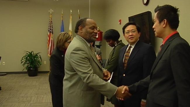 Tulsa's Sister City Honors City Councilor