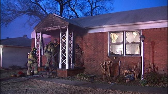Floor Furnace To Blame For Tulsa House Fire