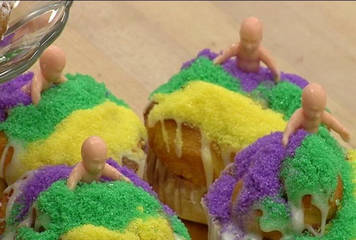 King Cakes Ready for Mardi Gras