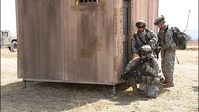 Oklahoma National Guard Soldiers Train For Afghanistan
