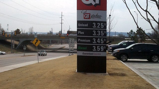 Price Of Gas In Tulsa Continues To Climb