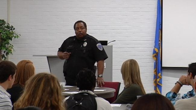 Tulsa Students Go One-On-One With Police Officers