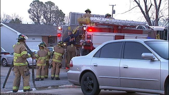 Tulsa Woman Injured In Home Kitchen Fire