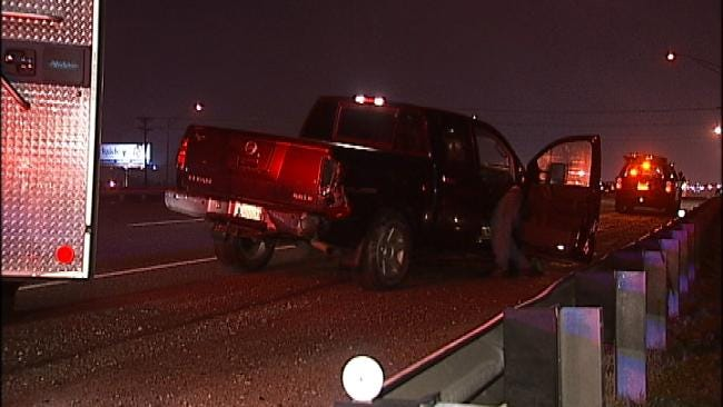Drivers Cited By OHP Troopers In Two Crashes On Tulsa Highway