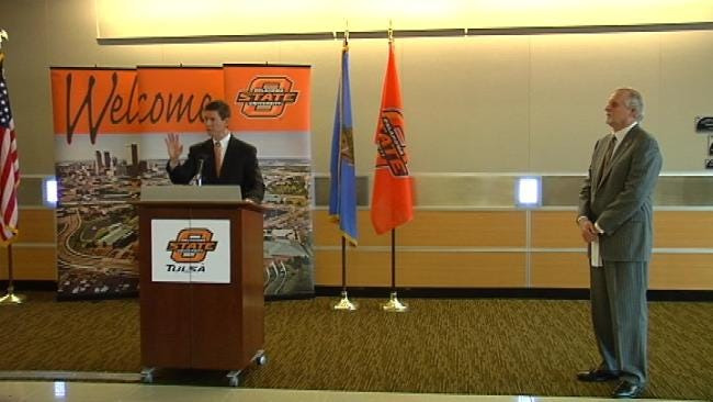 PSO Donates Quarter Million To OSU-Tulsa Research Center