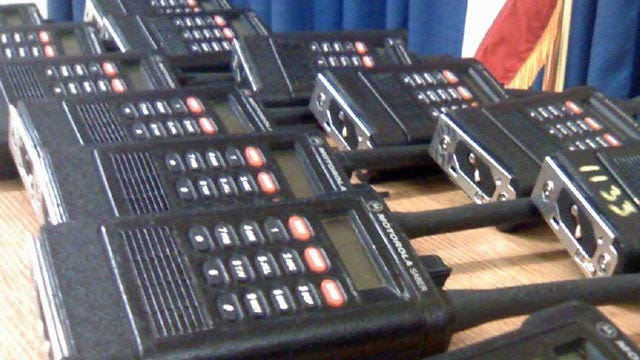 State Agency Donates Radios To Tulsa County Sheriff's Office