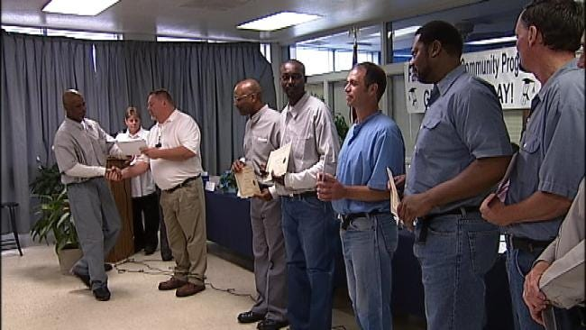 Faith-Based Program Giving Hominy Inmates New Lease On Life