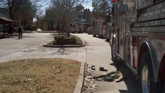 Two Units Damaged In Tulsa Apartment Fire