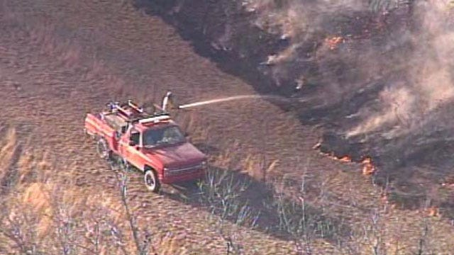 Grass Fire Danger Increases In Green Country