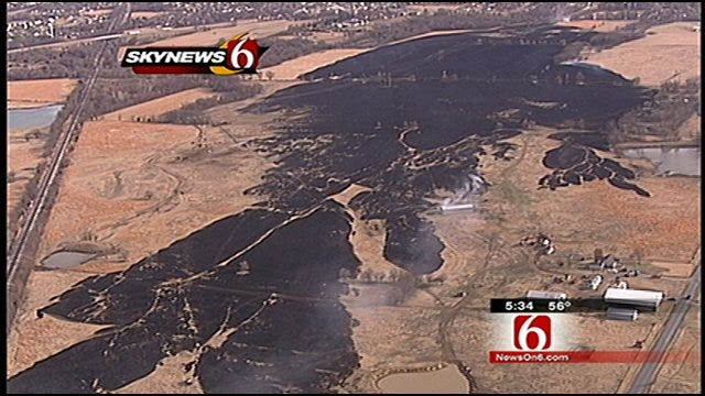 Two Juveniles Taken Into Custody For Arson In Wagoner County