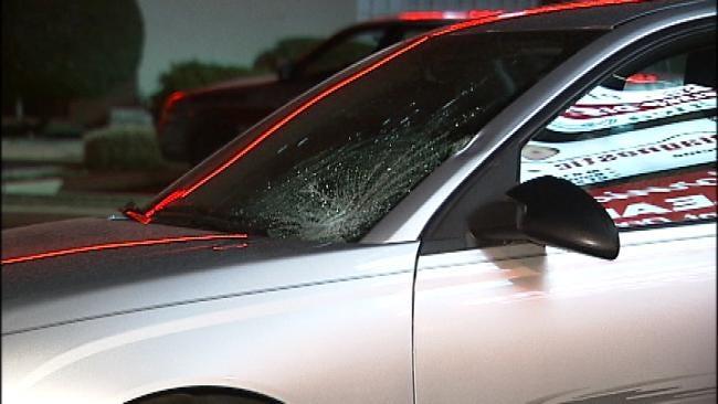 Woman Struck, Killed Crossing South Tulsa Street