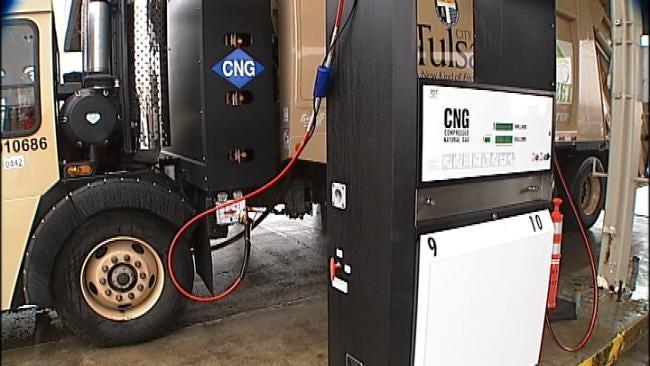 City Of Tulsa Using More Natural Gas Vehicles