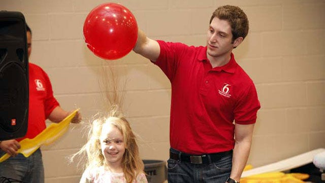 Trav's Wild Weather Camp Visits Mounds Elementary