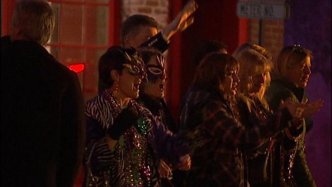 Tulsans Celebrate Mardi Gras