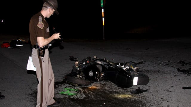 Claremore Motorcyclist Injured In Collision With Car