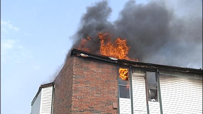 Man Seriously Burned In Broken Arrow Apartment Fire