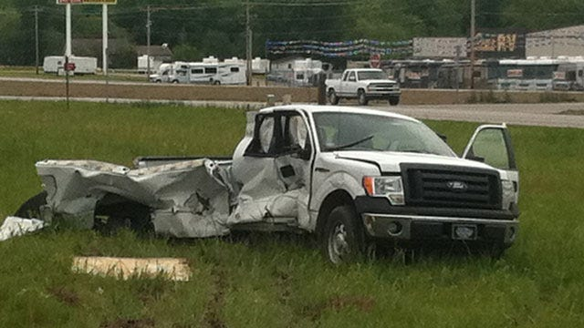 Driver Survives Collision With Train In Verdigris