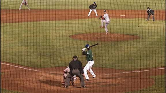 Arkansas Holds Off Drillers 4-3