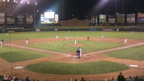 Bees Pull off Ninth-Inning Comeback to Top RedHawks