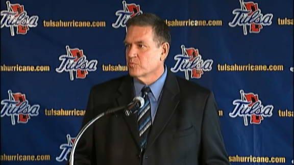 Bill Blankenship's Tulsa Press Conference