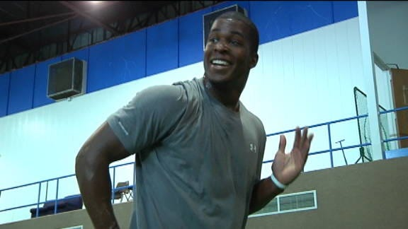 Charles Clay Prepares for the Upcoming NFL Draft
