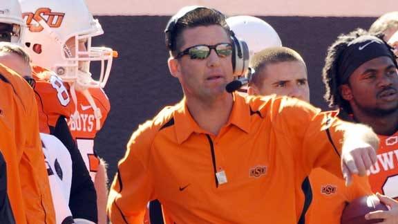 Coach Gundy, Wife Donate to Endow OSU QB Scholarship