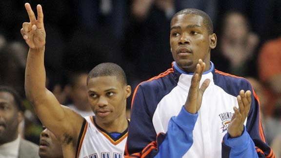 Durant Receives All-NBA First Team Honors