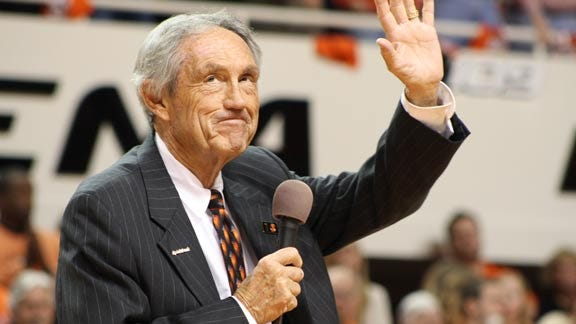 Eddie Sutton Named to Collegiate Basketball Hall of Fame