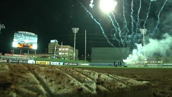 Fireworks are Tradition for Drillers