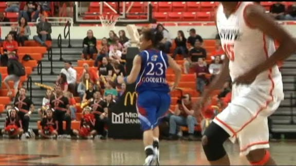 Kansas Overcomes Late Deficit to Top Cowgirls