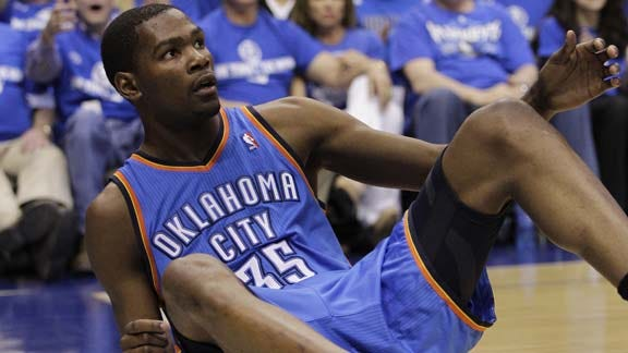 Kevin Durant Named Player of the Month