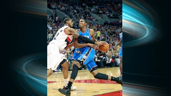 Late-Game Letdown Costs Thunder against Portland