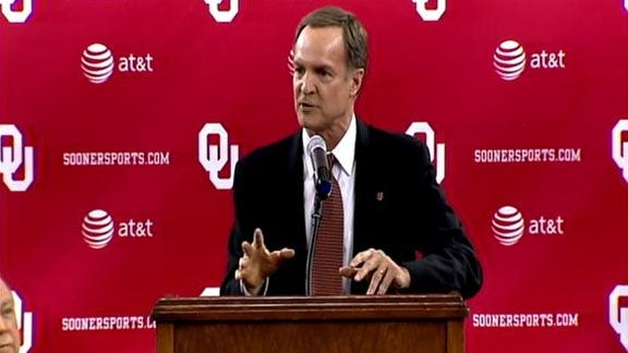 Lon Kruger Introduced as Oklahoma Men's Basketball Coach