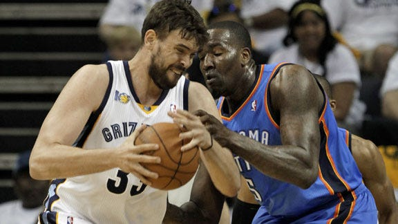 Memphis Takes 2-1 Series Lead over Thunder
