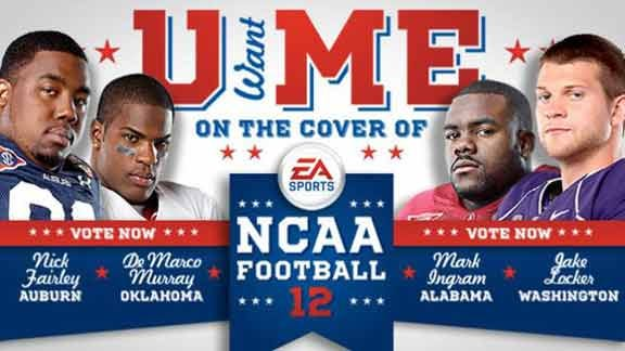 Murray a Finalist for Cover of NCAA Football 12'