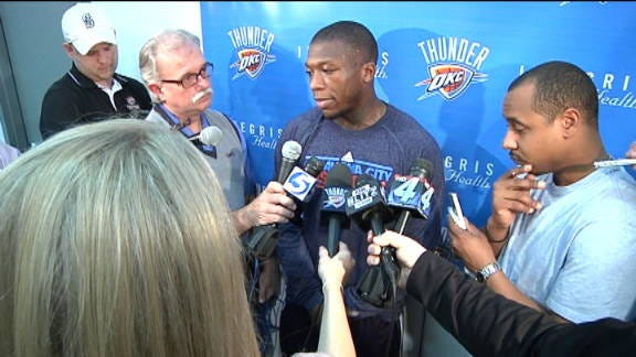 New OKC Players Speak Out about Trades, Team