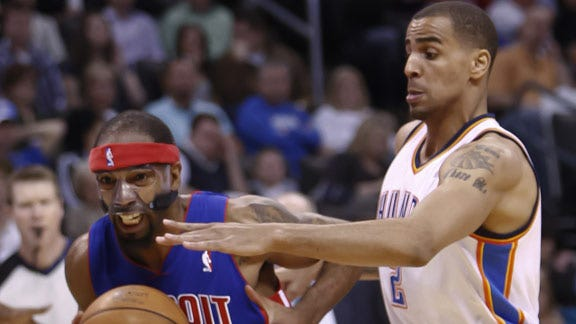 OKC Goes Through the Motions in Win against Detroit