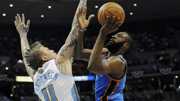 OKC Takes 3-0 Series Lead against Nuggets