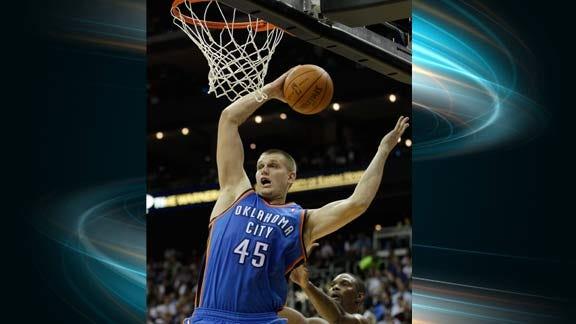OKC Thunder Assigns Cole Aldrich to Tulsa 66ers