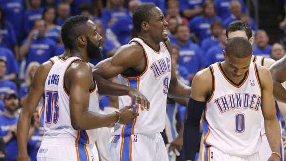 OKC's Ibaka Expected to Play after Injuring Ankle