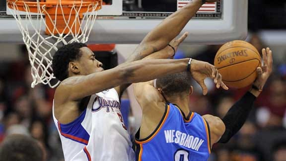 Oklahoma City Continues to Struggle, Falls to Clippers