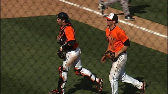Oklahoma State Holds off Cal Poly Mustangs