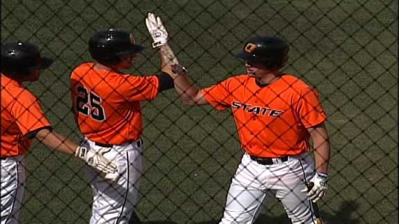 Oklahoma State Snaps Skid with RBI Single in Ninth