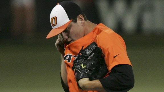OSU Baseball Team Blown Out by Washington State