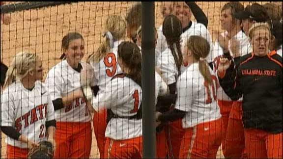 OSU Softball Run-Rules Rutgers for Fifth Straight Win
